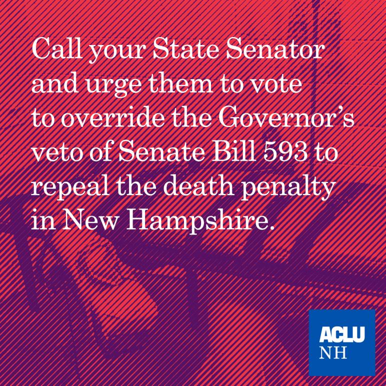 SB 593 Veto Override - Urge Your State Senator