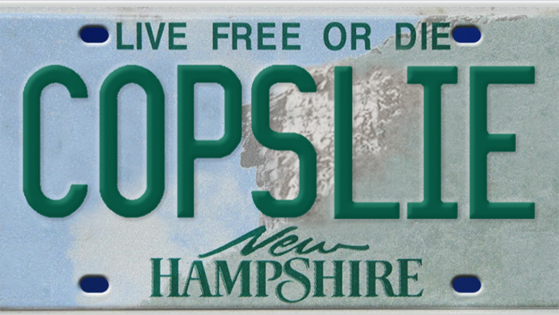 The First Amendment And Vanity Plates Aclu Of New Hampshire